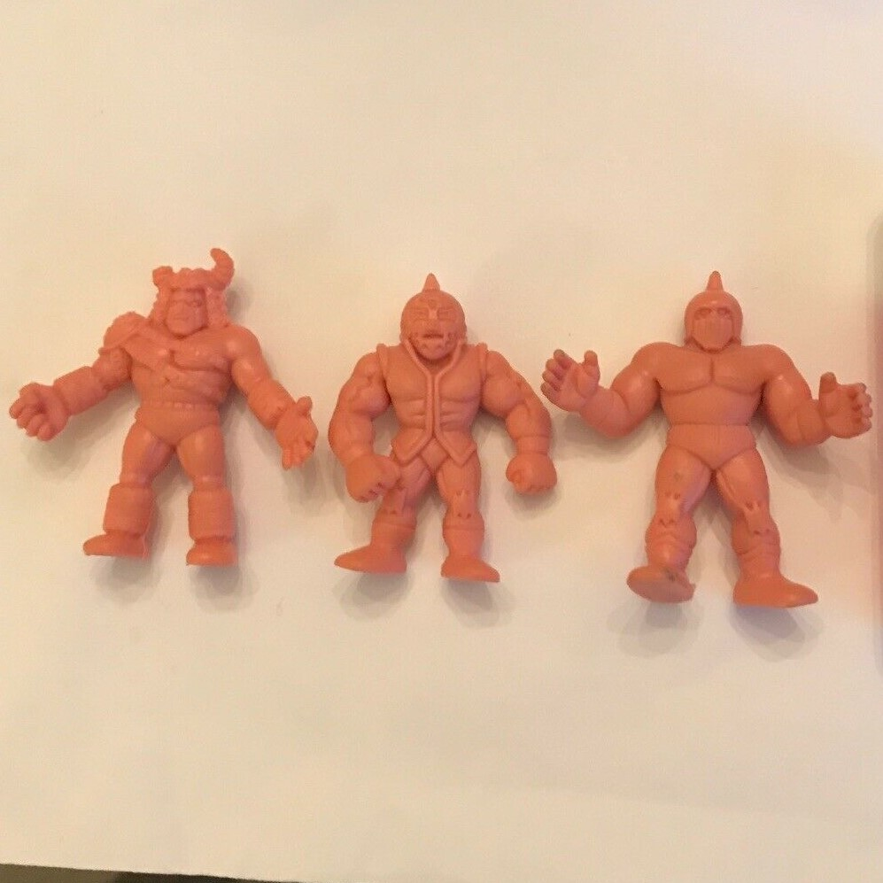 Flesh Mattel MUSCLE Figures