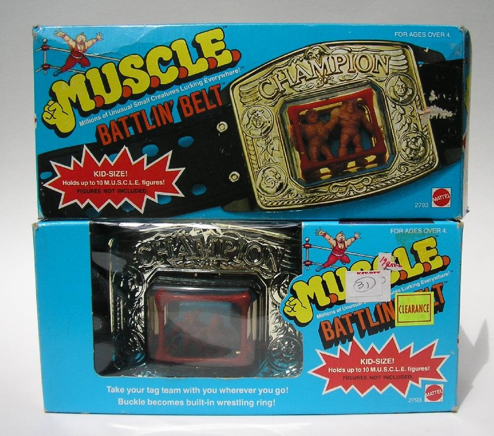 MUSCLE Wrestling Belt Ring