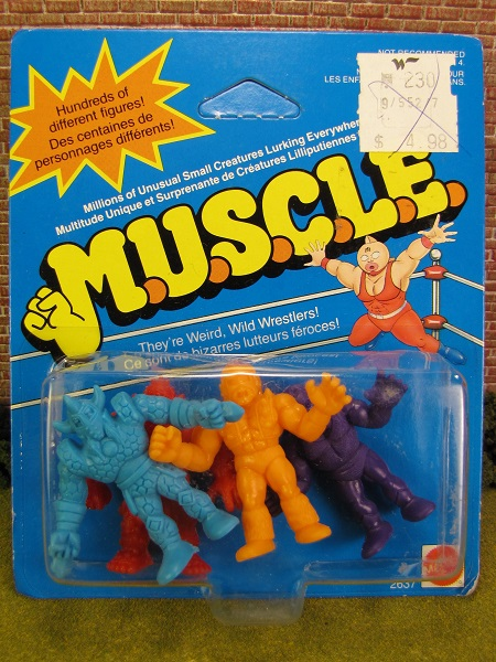 Class A MUSCLE Figures
