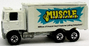 Custom Hot Wheels M.U.S.C.L.E. HiWay Hauler
