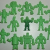#63 - Original Lot of Green Figures