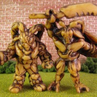 Infestors 05tt Art 300 – M.U.S.C.L.E.'s Big Impact on Little Figures (Modern Mini Figures)