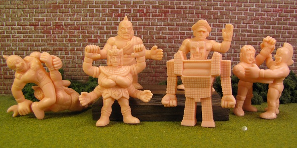 NEW MUSCLE Figures Kinnikuman