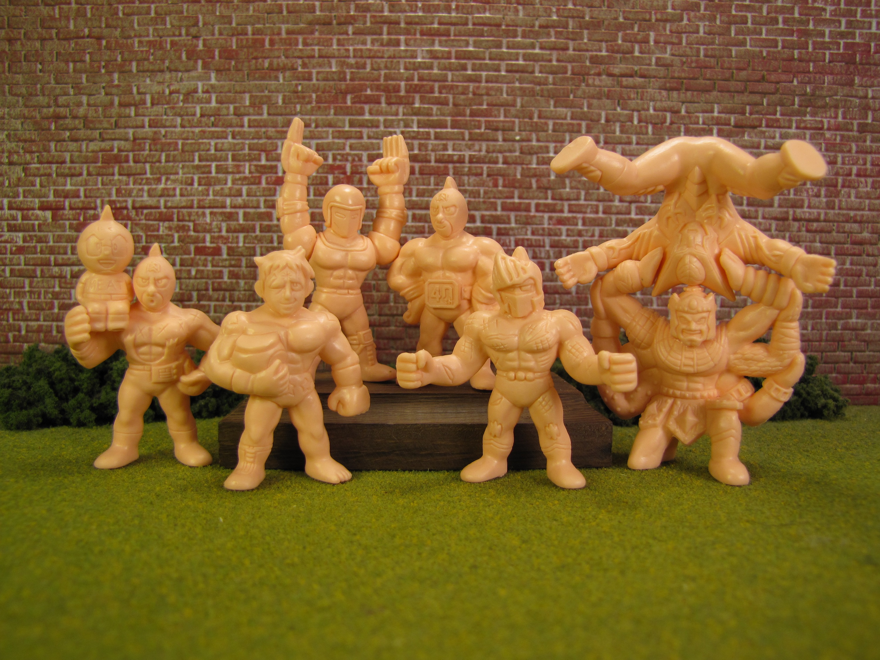 2002 Ultimate Muscle Kinnikuman Kinkeshi Gashapon Mini-Figurines CHOOSE