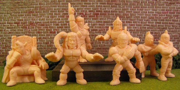Kinnikuman Gashapon Set 15