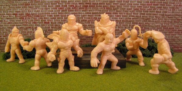 Kinnikuman Gashapon Set 16