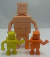 Rubix's Cube MUSCLE Figure