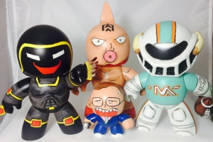 Mighty Muggs MUSCLE Figures