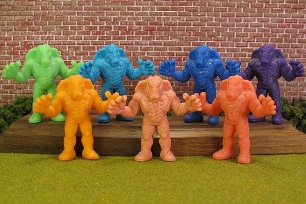 #72 M.U.S.C.L.E. Figure Mattel