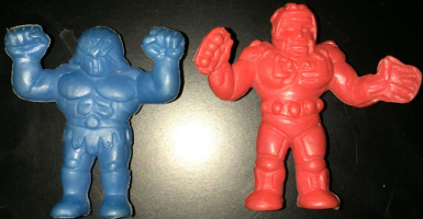 MUSCLEMANIA Army Man Plastic
