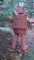 2009 Halloween Costume - Back