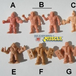 Counterfeit Figure Typology