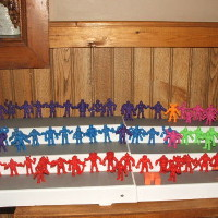 Color MUSCLE Figures Lot