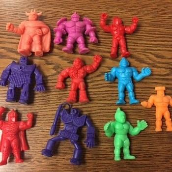 Color M.U.S.C.L.E. Figures
