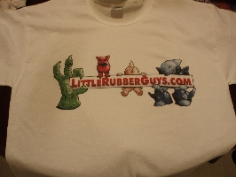LRG.com 1st Printing T-Shirt Sample