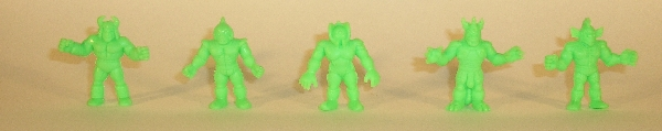 Green Board Game Figures