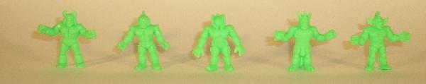 Green Board Game Figures