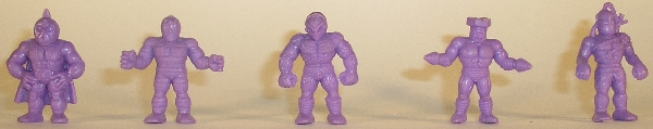 Purple Board Game Figures