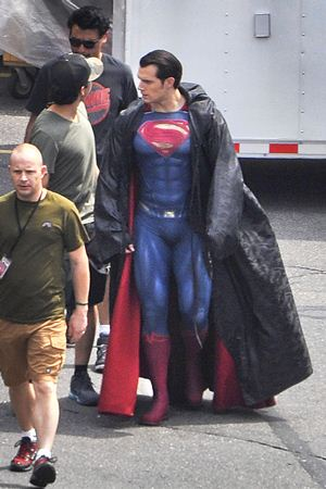 DC Superman Detroit Filming