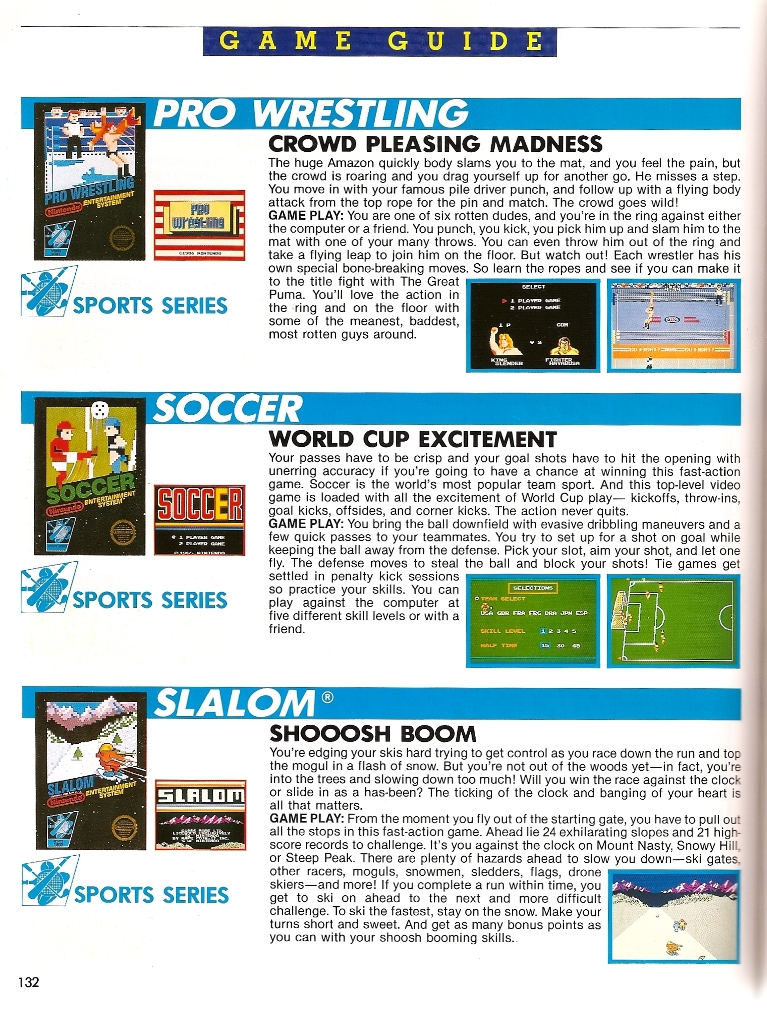 The Official Nintendo Player's Guide featuring M.U.S.C.L.E ...
