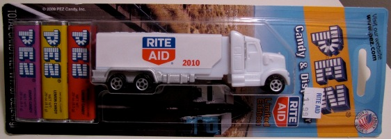 Rite Aid Pez Truck Packaged – Front