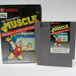 videogame History 200   The M.U.S.C.L.E. Wrestling Ring, Wrestling Belt, Board Game, and Video Game