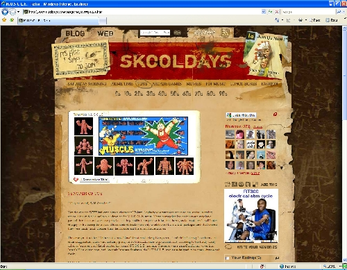 Skooldays.com M.U.S.C.L.E. Screen Shot